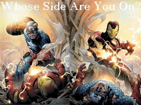 marvel s civil war breaking
