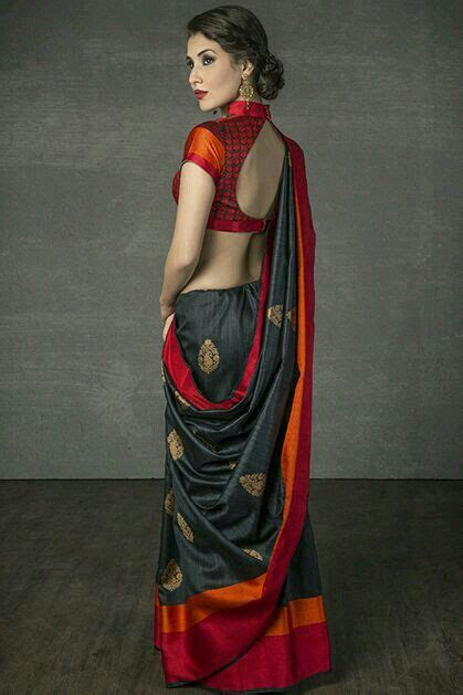 Saree Draping Styles Images - best 25 black saree ideas on black saree