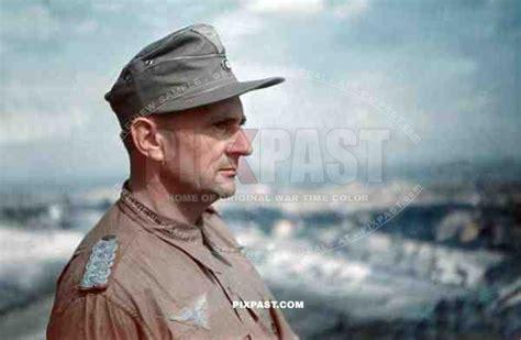 luftwaffe fak officer major  tropical uniform  hat