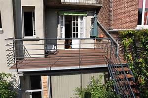 Terrasse Metallique Suspendue : terrasse metallique b timent cerh metallerie pour l 39 industrie les professionnels et les ~ Dallasstarsshop.com Idées de Décoration