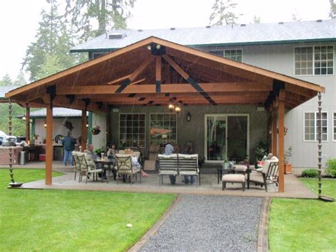 Covered Patio Ideas by Backyard Covered Patio Pictures With Lounge Space And