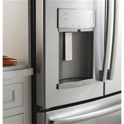 ge pfekskss profile   freestanding french door refrigerator   cu ft total