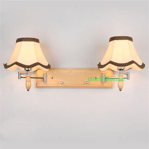 dimmer switch wall light oak modern wooden wall l