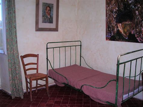 chambre jaune gogh chambre de vincent gogh à paul de mausole sur