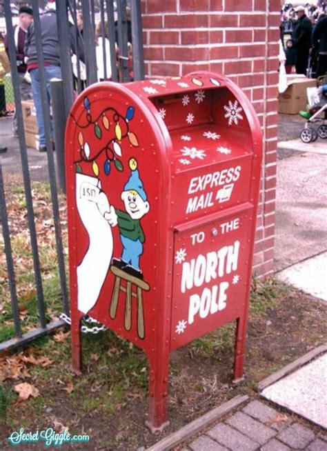 express mail   north pole mailboxes santa mail