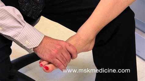 metatarsal squeeze test  mortons neuroma youtube