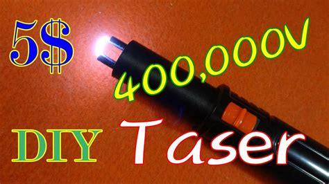 diy 400000 volt 5 taser stun gun
