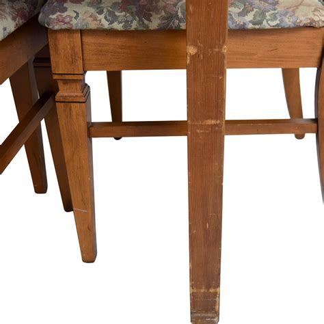 furniture kitchen table 83 wood kitchen table and floral upholstered chairs