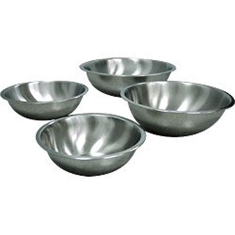 Amazoncom  Shallow Heavy Duty Stainless Steel Mixing Bowls  Set Of 4