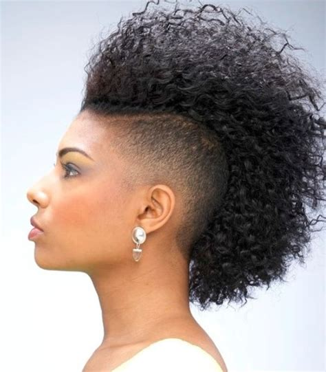 Mohawk Hairstyles For Black by 36 Mohawk Hairstyles For Black Trending In November
