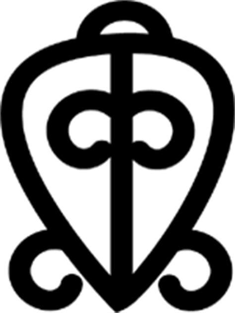 Adinkra Symbols of West Africa: Odo Nnyew Fie Kwan