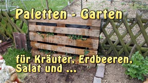 Günstige Garten Möbel by Paletten Garten Vertical Gardening