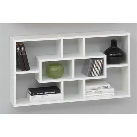 caisson de rangement bureau étagère blanche à suspendre à petit prix