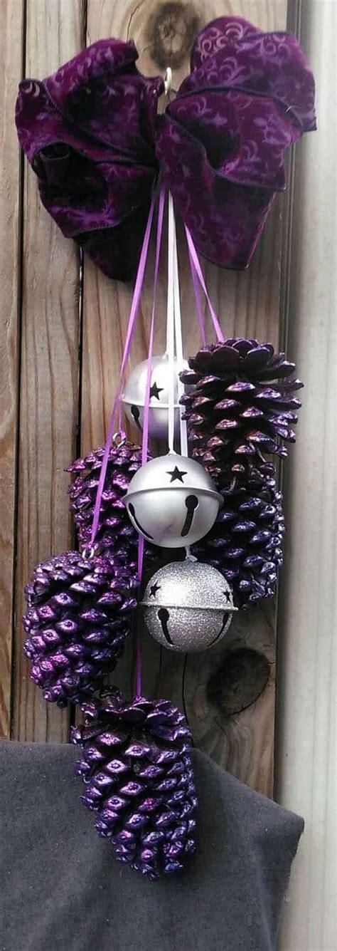 decorative bells jj 10 12 13 pine cone craft ideas