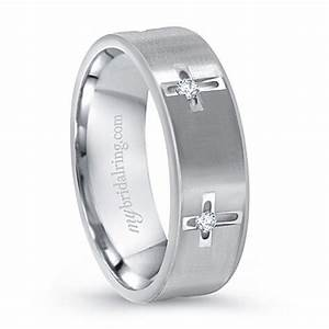 cross christian men39s wedding ring http www With christian wedding rings for men