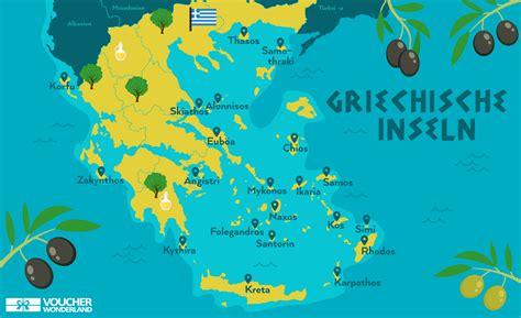 die  schoensten griechischen inseln im ueberblick