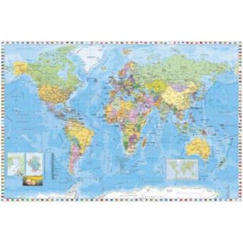 cartes papier peint photo poster carte du monde 4