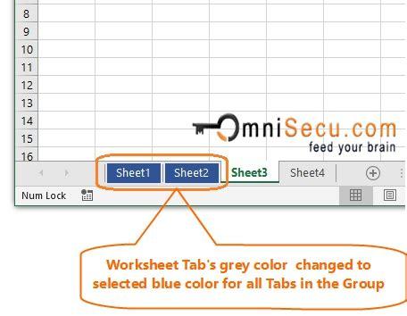change  color  worksheet tabs