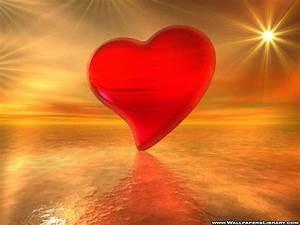 beautiful red heart - Love Wallpaper