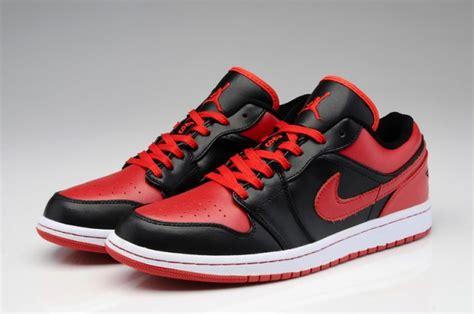 aj nike air jordan   og bred shoes black red