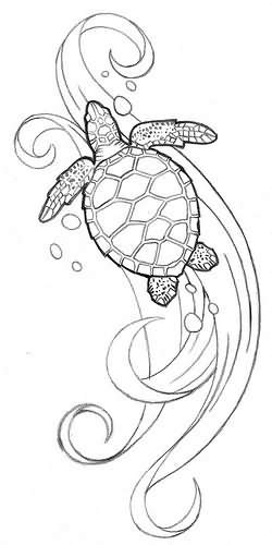 Turtle Tattoo Images & Designs