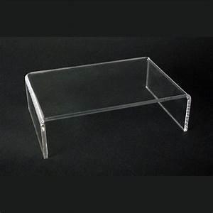 Table Basse En Plexiglas : table basse en plexiglas blox usinage plastiques ~ Teatrodelosmanantiales.com Idées de Décoration