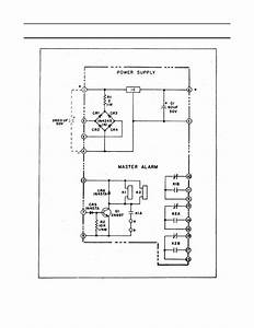 Power Supply And Master Alarm Module Ps1 Ps2   Schematic Diagram