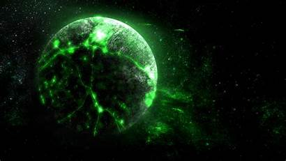 Space Planet Bright Glow Borg 1080p Background