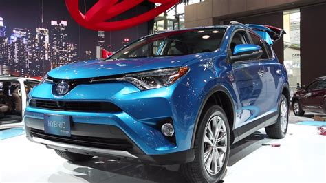 2016 Toyota Lineup by 2016 Toyota Rav4 Hybrid Joins Refreshed Lineup Kelley