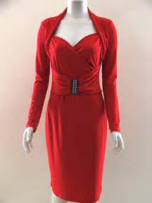 Red Cocktail Dresses with Sleeves