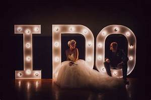 37 approaches to use marquee lights at your wedding With giant marquee letters