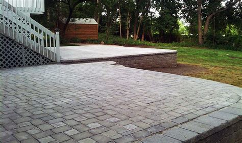 patios paving stone installation bergen county nj dd