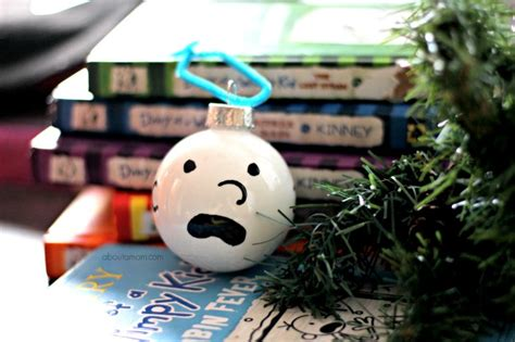 diary of a wimpy kid ornament personalize the tree for