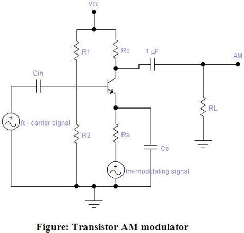 Electronique Transistor Modulator