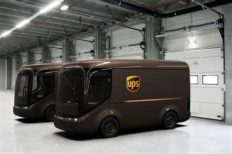 Ups Will Pilot These Adorable Electric Trucks In Paris And