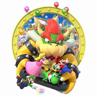Mario Party Bowser Artwork Poster Wii Deviantart
