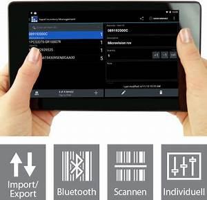 Barcode Erstellen App : apps f r mobile datenerfassung inventur barcodes bluetooth rfid android ios ~ Markanthonyermac.com Haus und Dekorationen