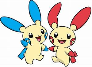plusle and minun on Tumblr