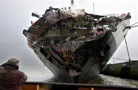 Ship Accident by Worst Maritime Accidents The Tricolor Cargo Ship Accident