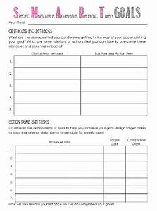 goal setting template peerpex With objective setting template