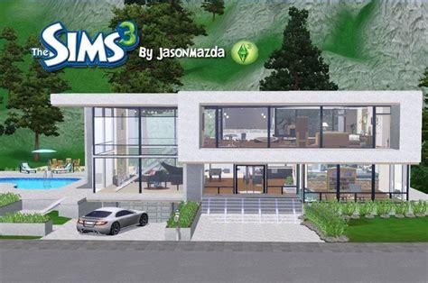 modern house floor plans sims   home plans