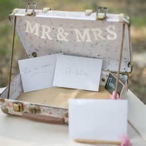 urne mariage valise urne de mariage liberty valise de mariage valise rétro mariage pour cartes et enveloppes