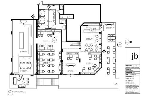 plan cuisine restaurant vectorworks josie bullen