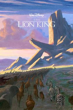 illustration art film disney  lion king  hunchback