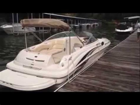 sea deck boat 240 2001 sea 240 sundeck used deck boat for sale lake