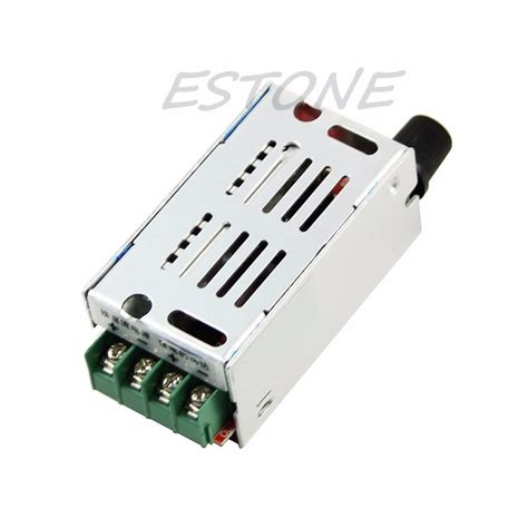 variable fan speed controller dc 12v 60v 24v 36vstepless pwm 15khz variable fan motor