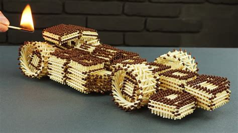 How To Make Amazing F1 Racing Car From Matches Without
