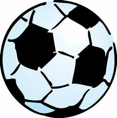 Soccer Ball Clip Clipart Svg Clker Vector