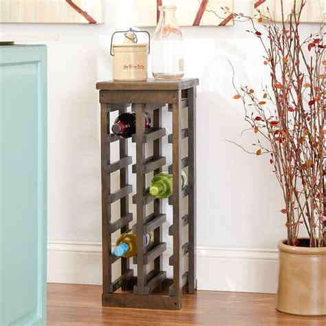 wine rack wood bar liquor bottle holder display storage