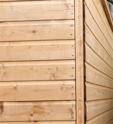 8' x 6' Windsor Shiplap Reverse Apex Shed   What Shed